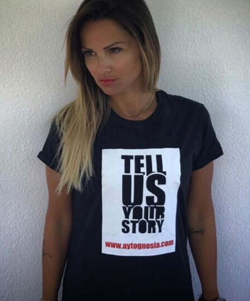 Tell Us Your Story Campain 16